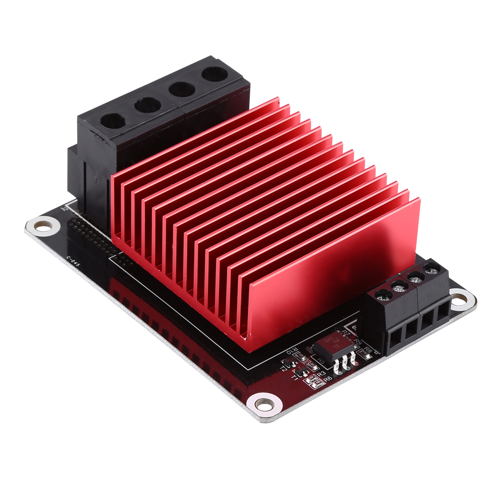 30a Heating Controller Mks Mosfet Mos Module Red Heatsink 3d Printer Parts Accs - unbranded - ebay.co.uk