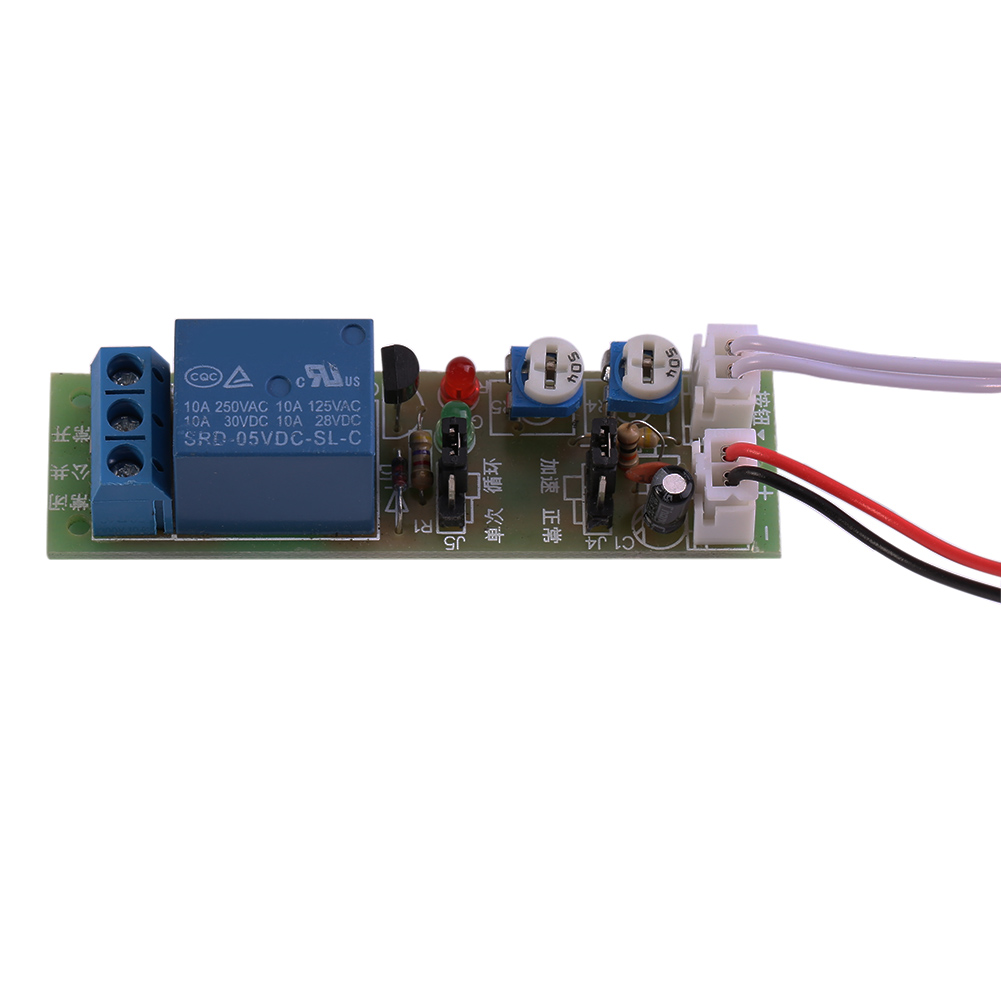 Dc 5v 12v 24v Infinite Cycle Delay Timing Timer Relay On Off Switch Electrical Wiring Loop